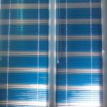 Жалюзи 25 мм сине-серебристые (лента 48 и 776)