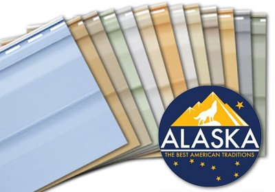 Сайдинг виниловый «ALASKA»