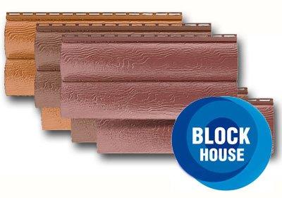Сайдинг акриловый «Blockhouse»