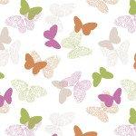 Бабочки розовый