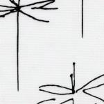 Стрекоза белый