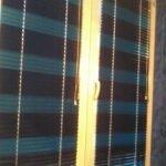 Жалюзи горизонтальные 2-хцветные синие в Бобруйске под заказ