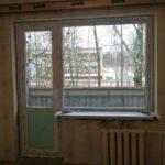 Заказать балконный блок с большим глухим окном в Бобруйске, Кировске, Осиповичах, Глуске