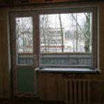 заказать балконный блок с большим глухим окном Бобруйск, Кировск, Осиповичи, Глуск