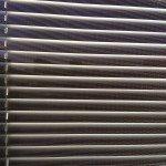 Заказать горизонтальные алюминиевые жалюзи 25 мм Перфорация белая (1003п) Бобруйск