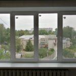 Пластиковое окно 4-хстворчатое с 2мя поворотно-откидными створками Brusbox 70 мм с откосами ПВХ Бобруйск, Кировск, Глуск, Осиповичи