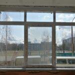 окно ПВХ 3-хстворчатое Т-разделение