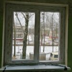 окно ПВХ 2-хстворчатое в спальне панельного дома Бобруйск, Кировск, Осиповичи, Глуск