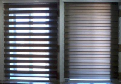 Рулонные шторы «Зебра» (День-Ночь)