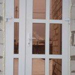 Заказать пластиковые двери штульповая с тонировкой бронза, дверной профиль Бобруйск, Кировск, Глуск, Осиповичи