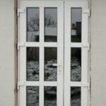 Дверь ПВХ Dexen A58 2.3 штульповая, дверной профиль Dexen A58, 4 петли в Бобруйске