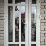 Входная дверь ПВХ из 2-х полотен под заказ в Бобруйске, Кировске, Осиповичах, Глуске