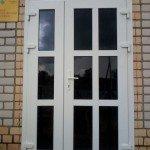 Дверь входная ПВХ штульповая с тонировкой под заказ в Бобруйске, Кировске, Осиповичах, Глуске