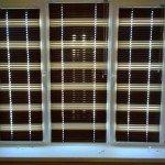 Горизонтальные жалюзи 2-хцветные коричнево-бежевые под заказ в Бобруйске