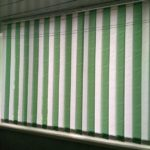 Заказать вертикальные жалюзи ткань РИО, цвет белый и св.зеленый Бобруйск, Кировск, Глуск, Осиповичи