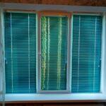 Жалюзи горизонтальные алюминиевые 25 мм цвет бирюзовый металлик в Бобруйске